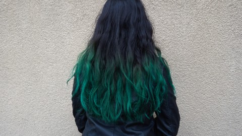 Green Hair wallpapers high quality