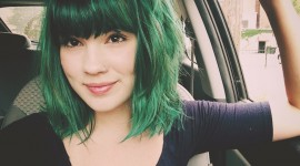 Green Hair Wallpaper Download