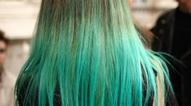 Green Hair Wallpaper Download Free
