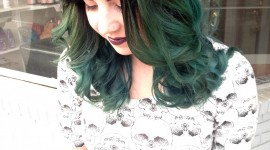 Green Hair Wallpaper Gallery