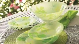 Green Tableware Photo