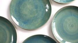 Green Tableware Photo Free
