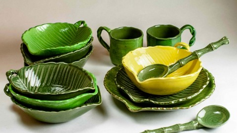 Green Tableware wallpapers high quality