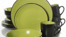 Green Tableware Wallpaper For Android