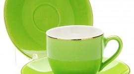 Green Tableware Wallpaper For IPhone