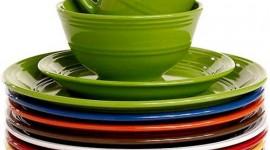 Green Tableware Wallpaper For Mobile
