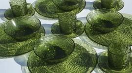 Green Tableware Wallpaper Full HD
