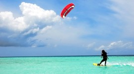 Kite Surfing Desktop Wallpaper