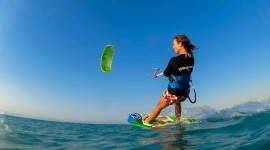 Kite Surfing High Quality Wallpaper