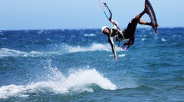 Kite Surfing Wallpaper Download Free