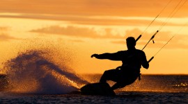 Kite Surfing Wallpaper For Desktop