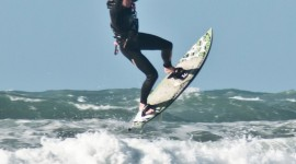 Kite Surfing Wallpaper For IPhone Free