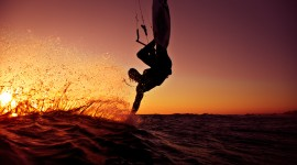 Kite Surfing Wallpaper Free