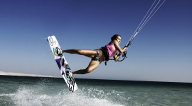 Kite Surfing Wallpaper Full HD
