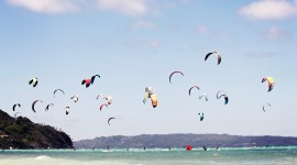 Kite Surfing Wallpaper HD