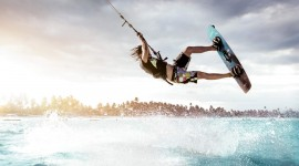 Kite Surfing Wallpaper HQ