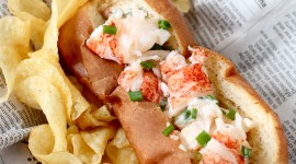 Lobster Roll Wallpaper For Mobile