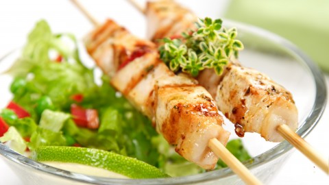Meat Skewers wallpapers high quality
