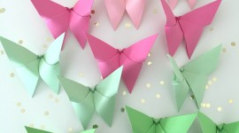 Paper Butterflies Wallpaper For Android