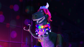 Partysaurus Rex Wallpaper For PC