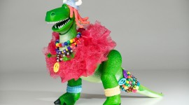 Partysaurus Rex Wallpaper Free