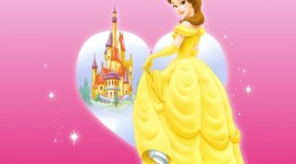 Princess Belle Desktop Wallpaper