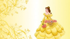 Princess Belle Desktop Wallpaper HD