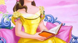 Princess Belle Wallpaper For IPhone#1