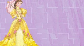 Princess Belle Wallpaper For PC