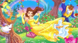 Princess Belle Wallpaper Free