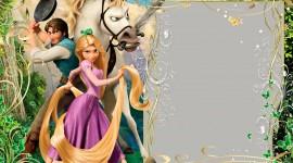 Rapunzel Frame Photo