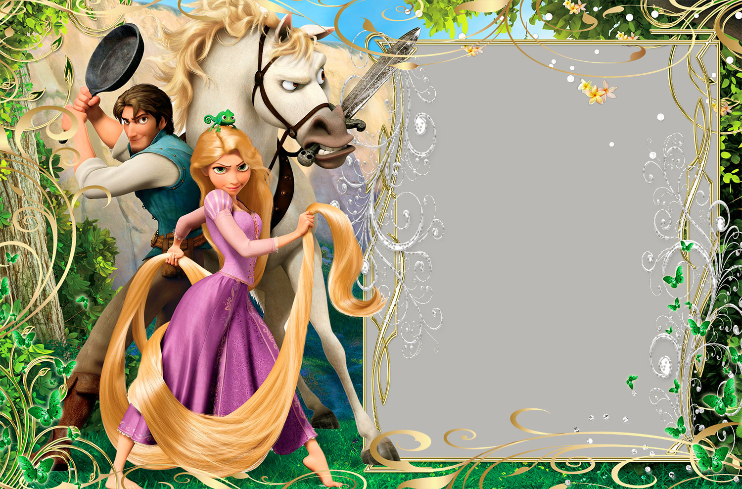Rapunzel frame wallpapers high quality download free - Rapunzel pictures download ...