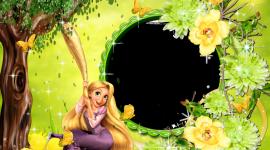 Rapunzel Frame Wallpaper