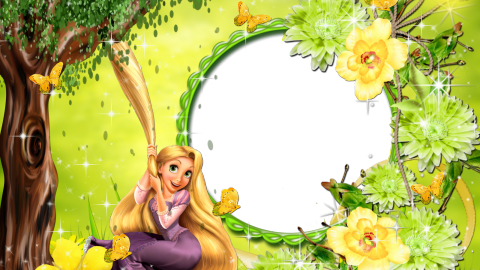 Rapunzel Frame wallpapers high quality