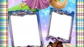 Rapunzel Frame Wallpaper For IPhone
