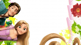 Rapunzel Frame Wallpaper For Mobile