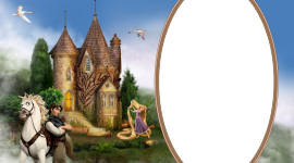 Rapunzel Frame Wallpaper Gallery