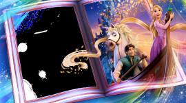 Rapunzel Frame Wallpaper HQ