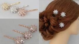Rhinestone Hair Pins Pics