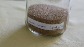 Sand In A Jar High Quality Wallpaper
