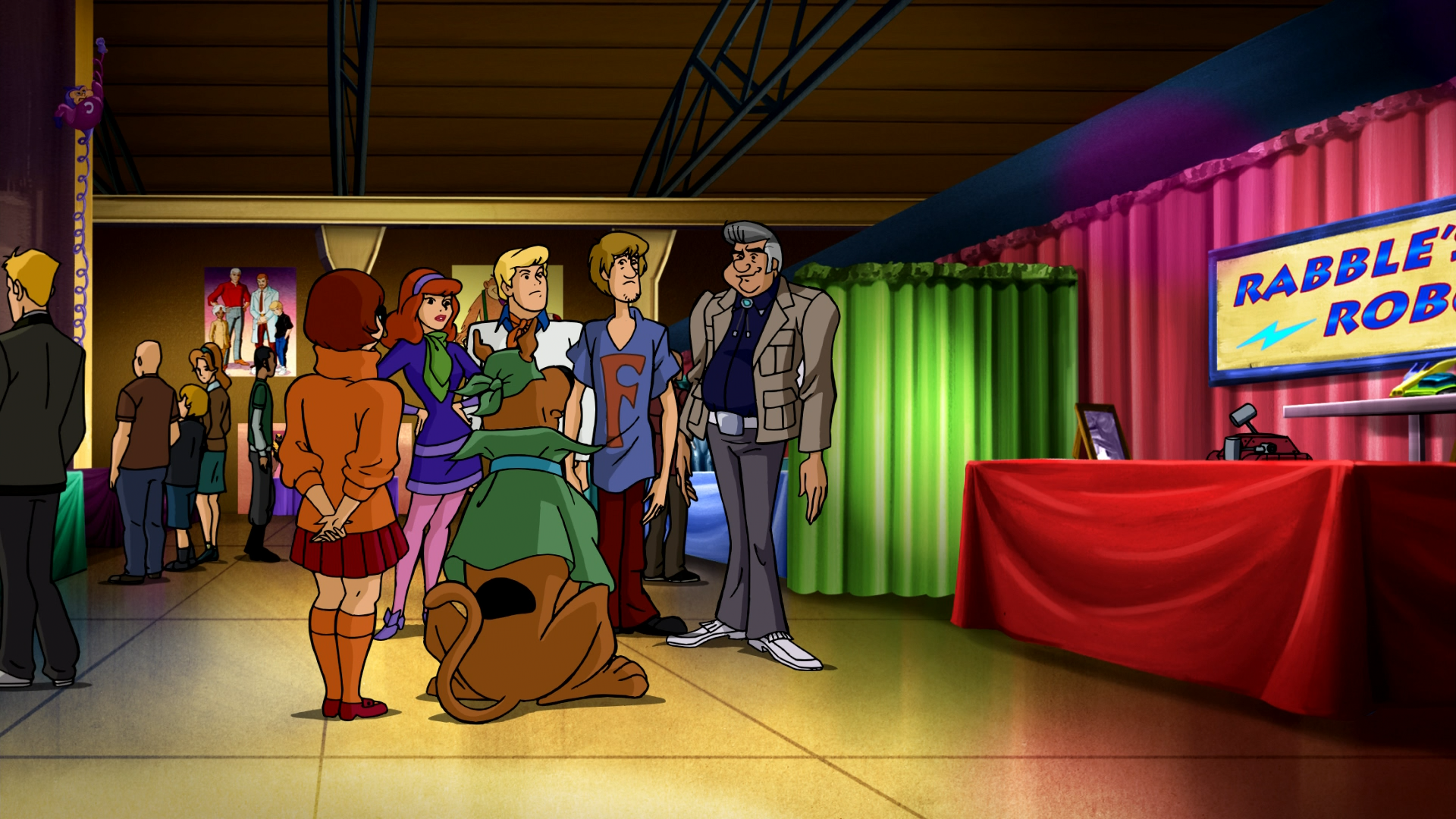 watch mask of the blue falcon scooby doo