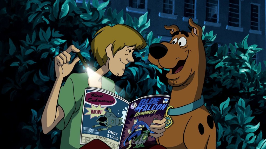 Scooby Doo Mask Of The Blue Falcon wallpapers HD