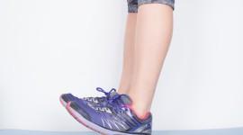 Sneakers On The Legs Wallpaper HD