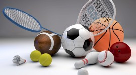 Sports Equipment High Quality Wallpaper