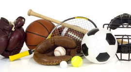 Sports Equipment Wallpaper Background