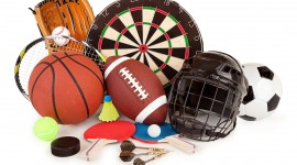 Sports Equipment Wallpaper For Desktop