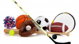 Sports Equipment Wallpaper Free