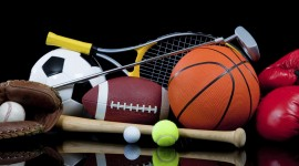 Sports Equipment Wallpaper Full HD