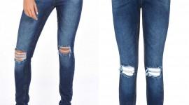 Torn Jeans Desktop Wallpaper