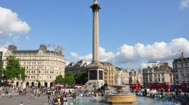 Trafalgar Square Desktop Wallpaper